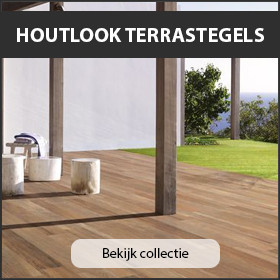 Houtlook terrastegels